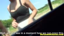 Скриншот для Выехали на природу и устроили порно в машине
