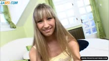 Скриншот для Парень снимает на мобилу секс с блондинкой