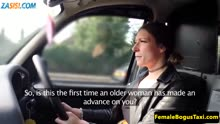 Скриншот для Таксистка сама соблазнила пассажира на секс