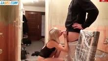 Скриншот для Хозяйка соблазнила мастера на секс