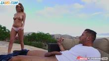 Скриншот для Романтическая оргия с грудастой женой