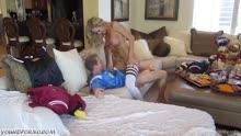 Скриншот для Любительский секс с грудастой блондинкой