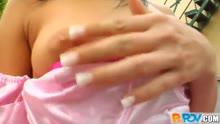Скриншот для Одела эротичный прикид и сняла с другом порно