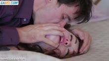 Скриншот для Красотка в чулках обожает секс в попку