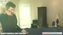 Скриншот для Зрелая сисястая блонди практикует камасутру