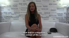 Скриншот для Зрелая порно актриса показала себя на кастинге