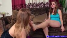 Скриншот для Лесбы устроили смачное порно со страпоном