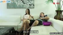 Скриншот для Азартная подруга захотела секс перед камерой
