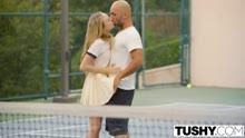 Скриншот для После тенниса телка сама напрыгнула на мужика